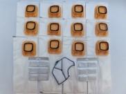 Sáčky do vysavače VORWERK 140/150 balení 12 ks s filtrem