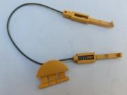 Jištění předního krytu hlavice Vorwerk EB350/351