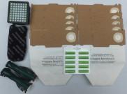 Sada VORWERK 130 / 131 10 kusů sáčků, filtry, kartáče, 10 ks vůní